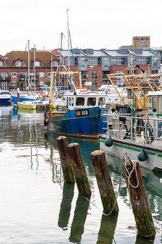 Portsmouth, England - Gunwharf Quays