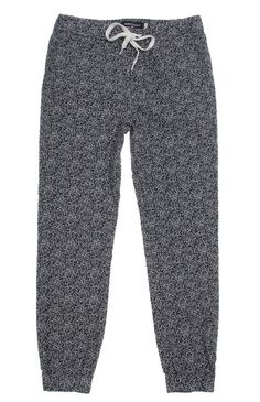 80s idea  PacSun presents the Modern AmusementPrinted Jogger Pants for men. These unique men's jogger pants come with a comfortable feel, two tone print throughout, and Modern Amusement logo on back.Multi color print jogger pantsModern Amusement logo above welted back pocketSlant front pocketsElastic, drawstring waistMachine washable97% cotton, 3% spandexImported