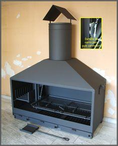 Parrilladas Ideas, Bbq Grill, Grilling, Parrilla Exterior, Barra Bar, Outdoor Rooms, Outdoor Decor, Wood Oven, Grill Design