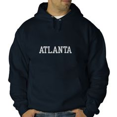 ATLANTA Embroidered Hoodie