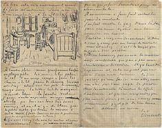 The bedroom via letter - October 1888