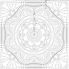 Learn to Crochet – Crochet Wave Fan Edging. How I made this wave fan edging border stitch. Crochet Squares, Motif Mandala Crochet, Point Granny Au Crochet, Crochet Doily Patterns, Granny Square Crochet Pattern, Crochet Diagram, Crochet Blocks, Crochet Designs, Crochet Stitches