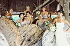 country weddings will always be perfect