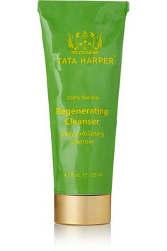 """Tata Harper Regenerating Cleanser """"refreshes my complexion while preserving my skin's natural hydration. Small exfoliating beads and eleven active ingredients, including skin-strengthening Pomegranate and deep cleansing Apricot Seed Powder, tone and exfoliate."""" - shesintheglow.com"""