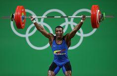 ¡ORO PARA COLOMBIA! Óscar Figueroa gana en la categoría 62kg de halterofilia