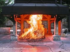 Jack Daniels Distillery in Lynchburg, TN. This is the rickyard where the whiskey is charcoal mellowed by letting it drip through 10 feet of maple charcoal. This is what distinguishes Tennessee whiskey from other American Whiskeys such as Bourbon.