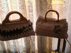 lovely people :) Hecho con amor y con nuestros materiales, por Renata  #hechoamano #crochet #ganchillo #sacocharte #trapillo