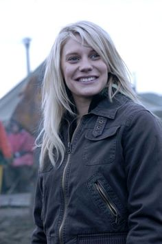 Katee Sackhoff as Kara Thrace, Starbuck - Battlestar Galactica