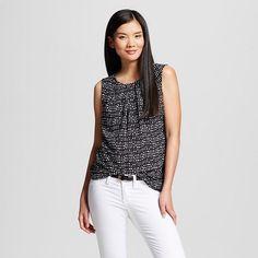 Women's Printed Sleeveless Shell - Merona™ : Target