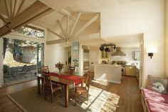 Carmel Passive House - farmhouse - Dining Room - Other Metro - Justin Pauly Architects