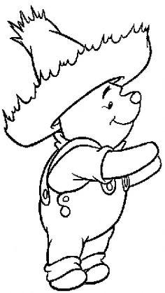 Winnie The Pooh  #disegnidacolorare #disegni #colorare