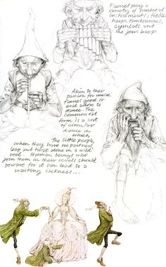 Art by Alan Lee*  • Blog/Info | (https://en.wikipedia.org/wiki/Alan_Lee_(illustrator))   ★ || CHARACTER DESIGN REFERENCES™ (https://www.facebook.com/CharacterDesignReferences & https://www.pinterest.com/characterdesigh) • Love Character Design? Join the #CDChallenge (link→ https://www.facebook.com/groups/CharacterDesignChallenge) Share your unique vision of a theme, promote your art in a community of over 50.000 artists! || ★