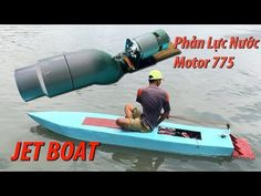 Making water jet engine using 775 motor to drive people Wooden Boat Building, Boat Building Plans, Boat Plans, Motor Jet, Jet Ski Engine, Electric Boat Motor, Jet Surf, Canoa Kayak, Camping Trailer Diy