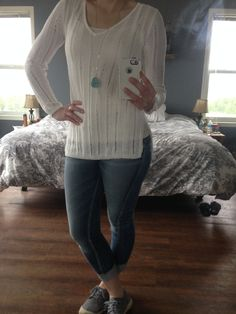 Today's Outfit, Boyfriend Jeans, Aqua, Label, Lace Up, Pullover, Sweaters, Outfits, Fashion