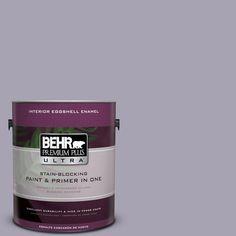 BEHR Premium Plus Ultra 1-gal. #N560-3 Luxe Lilac Eggshell Enamel Interior Paint