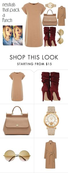 """""""Untitled #234"""" by treysongz ❤ liked on Polyvore featuring Dolce&Gabbana, Versace, ZeroUV and IRO"""
