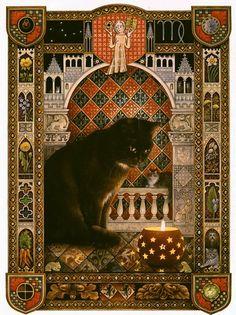 Кошачий гороскоп от Lesley Anne Ivory