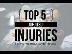 The Top 5 Injuries in Jiu-Jitsu : Gracie Academy |