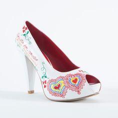 Sapatos Namorar Portugal, modelo Flor de Laranjeira
