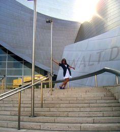 at Walt Disney Concert Hall