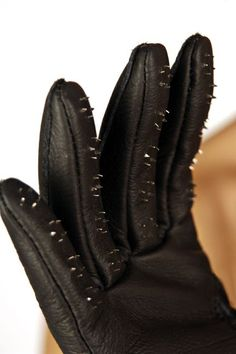 Vampire gloves Get into sensation play! Feel your skin tingle as you slowly glide them over your partners body. Available at www.differentstrokes.co.za in 3 different sizes.