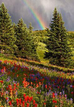 Arcobaleno, Santuario Ridge, Colorado,
