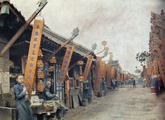 First Color Photographs of China, 1912 Albert KahnArt and design inspiration from around the world – CreativeRoots