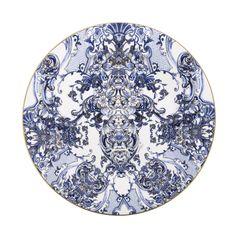 Azulejos Sottopiatto | RobertoCavalliHome #RobertoCavalliHome #Tableware #Sottopiatto #Blue