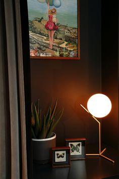 - Home Decor Interior Design Photos, Interior Design Studio, Cinema Room, Dark Walls, Dark Interiors, Faux Plants, Interiores Design, Photo Credit, London