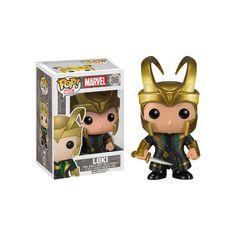 Marvel Funko POP figurine Thor 2 Loki Helmet # - Funko POP!/Pop! Marvel - Little Geek