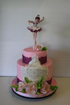 Pretty Pink for Yasmine - Cake by Bistra Dean