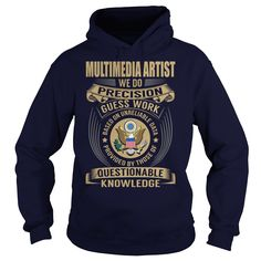 Multimedia artist We Do Precision Guess Work Knowledge T-Shirts, Hoodies. Get It Now ==►…