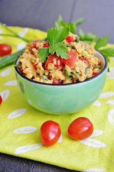 Red Lentil Salad loaded with Fiber, Protein, and Iron! #vegan #glutenfree #recipe
