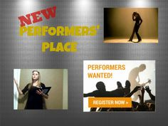 All New Performers' Place at your library.