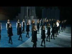 Riverdance! Michael Flatley and Jean Butler. This is my Favorite version of the show, the original