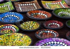 What a way to revive & recycle old sets of dishes!