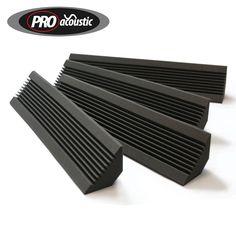 4x AFBT200 Pro Acoustic Foam Bass Traps Studio Sound Treatment: Amazon.co.uk…