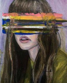 """l'art est une étoile on Twitter: """"""""Eyeless girls"""" by Hélène Delmaire… """""""