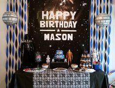 "Star Wars / Birthday ""Mason's 4th Birthday""   Catch My Party"