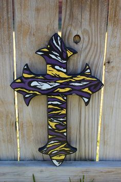 lsu football graphics and comments Painted Wine Bottles, Cowboys Football, Tiger Stripes, Silent Auction, Lsu Tigers, All Things Purple, Auction Items, Home Wall Decor, Purple Gold