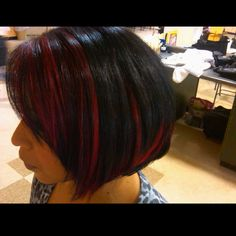 Dramatic Red HighLights