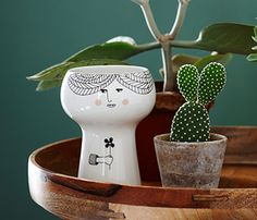 {Small Lotta Vase} flower me happy porcelain vase by Meyer Lavigne