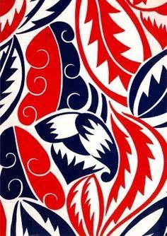 textile design: Raoul Dufy for Bianchini Ferier