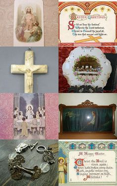 Easter Greetings - He is Risen!  TVAT by Kristin on Etsy--Pinned with TreasuryPin.com