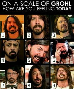 A must use for all things Dave Grohl, and endurance sports/hangry/taper monster etc. Checkin' IN! I'm not sure where thi. Foo Fighters Nirvana, Foo Fighters Dave Grohl, Dave Grohl Quotes, Hard Rock, There Goes My Hero, Rap, Rockn Roll, Music Memes, Music Humor