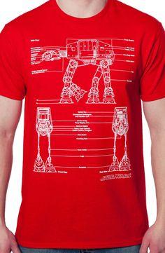 AT-AT Blueprint Shirt