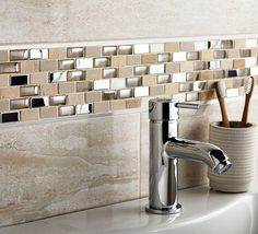 From bold black to clean crisp whites and multiple shades of grey in-between the Naturals story celebrates the unique beauty of natural stone to offer a timeless look that will lavish walls and floors for years to come, the Naturals collection has over 23 variants of Mosaics. #tiles #Tiles #WallTiles #FloorTiles #KitchenTiles #BathroomTiles
