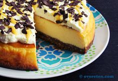 Advocaat cheesecake