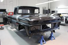 Cleveland Design - Andy's 1961 Chevrolet C10 Fleetside - Cleveland Design 1963 Chevy Truck, Custom Chevy Trucks, Classic Chevy Trucks, Lifted Ford Trucks, Gmc Trucks, Cool Trucks, Old Chevy Pickups, Chevy C10, Custom Metal Fabrication
