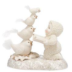 Snowbabies - Dream - 12 Days Four Calling Birds